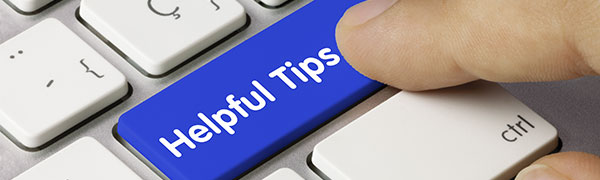 Illustration of Helpful tips